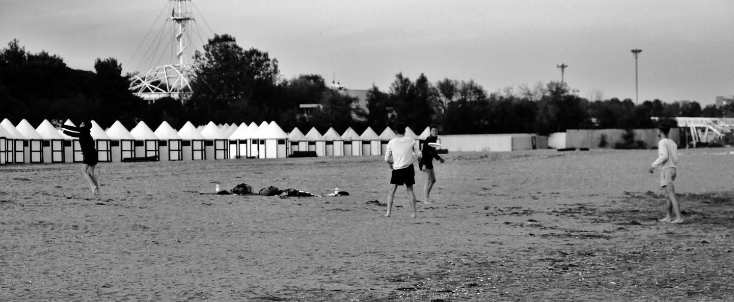 Lido/Strand in Venedig